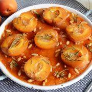 Cake abricot romarin pignons maison