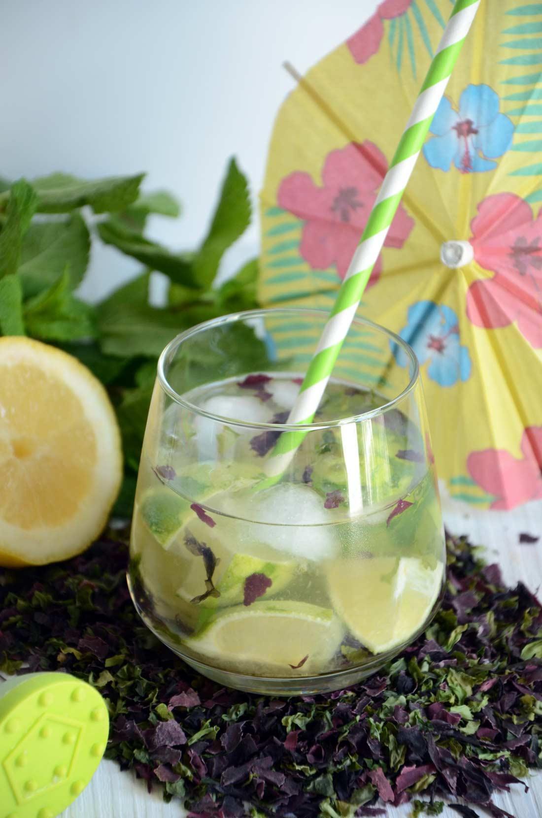 Cocktail Mojit'algues