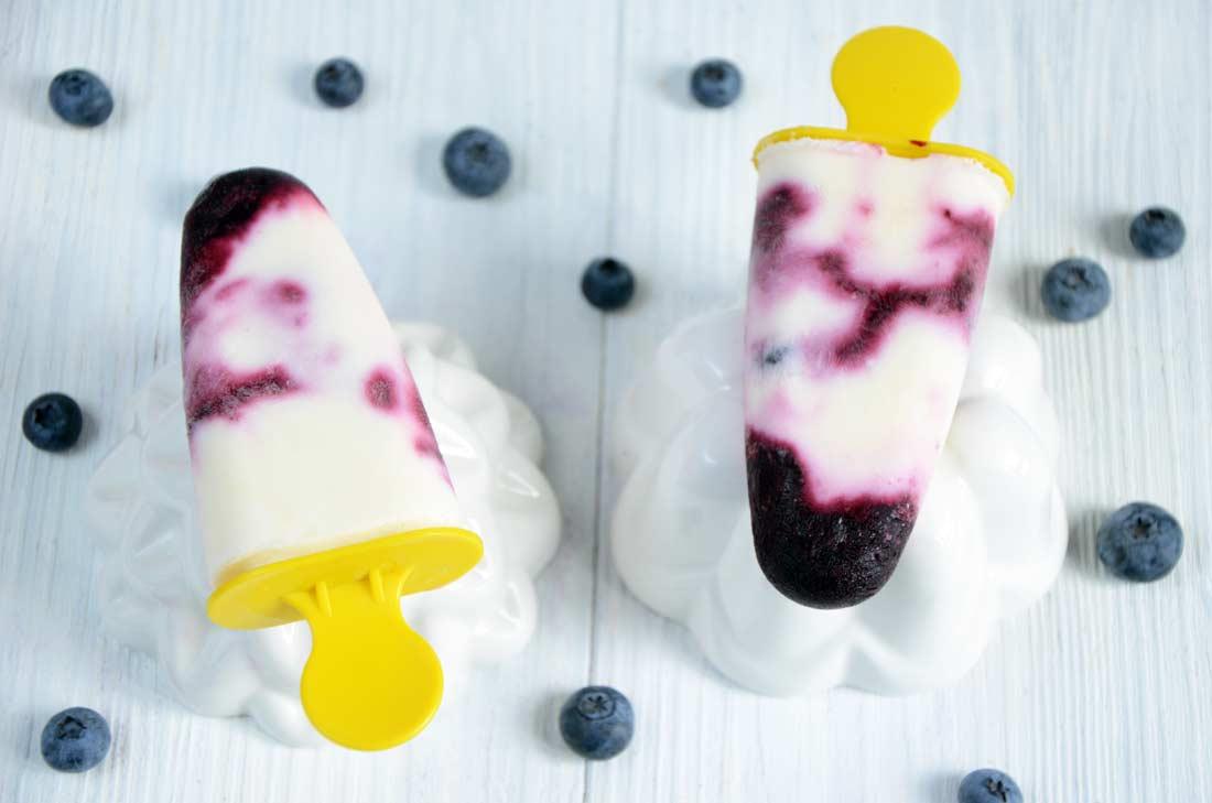 Esquimaux myrtilles et yaourt