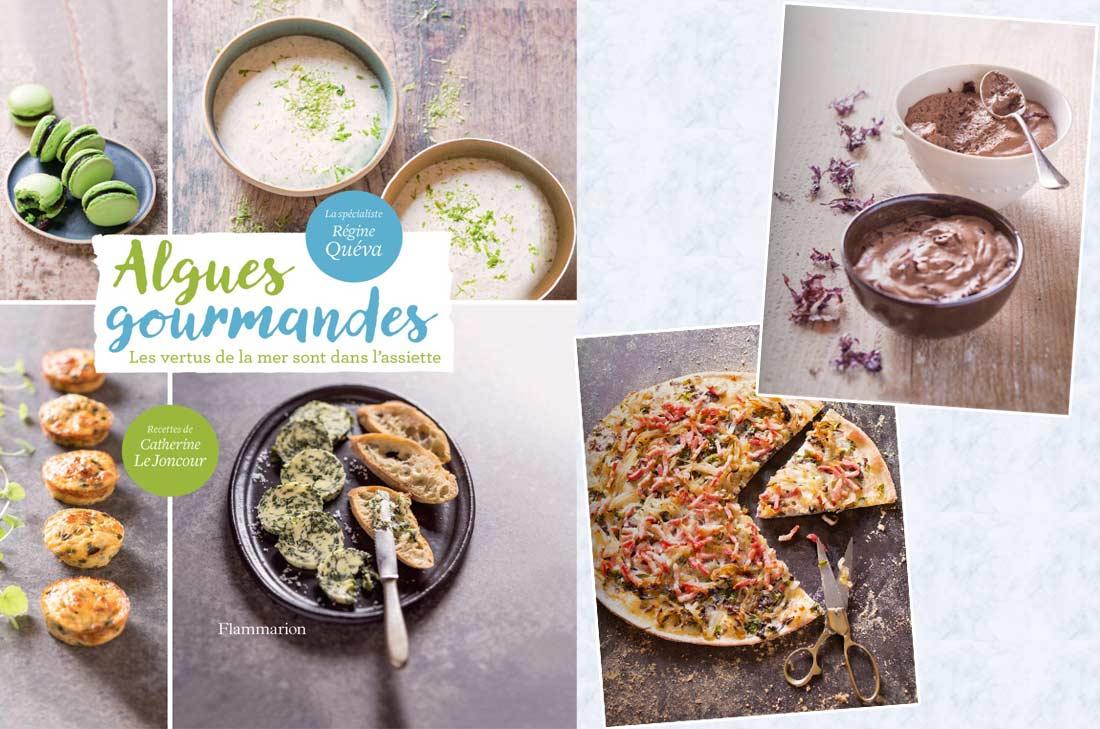 Livre recettes algues gourmandes