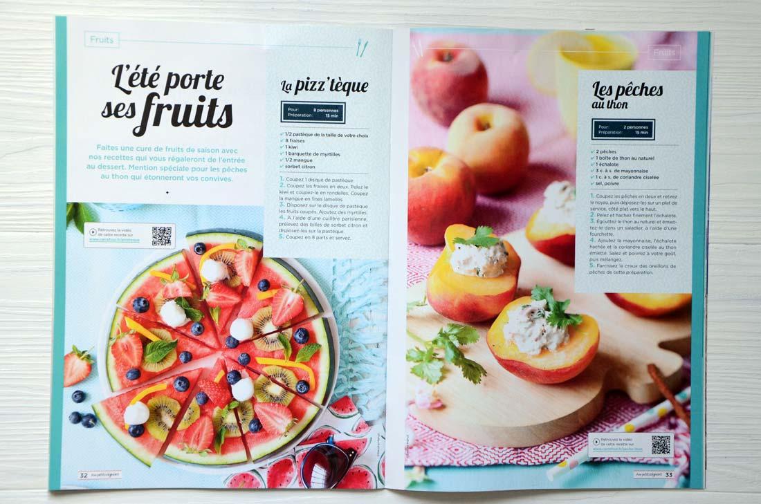 carrefour revue culinaire Aux Petits Oignons