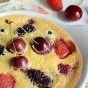 Gratin de petits fruits rouges à la réglisse