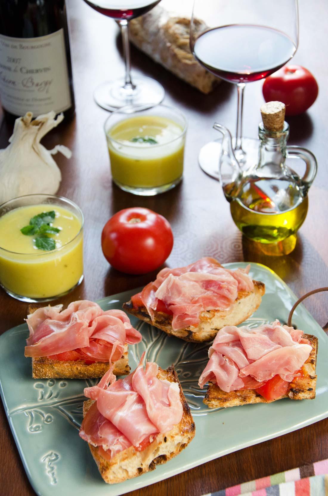pan con tomate fait maison