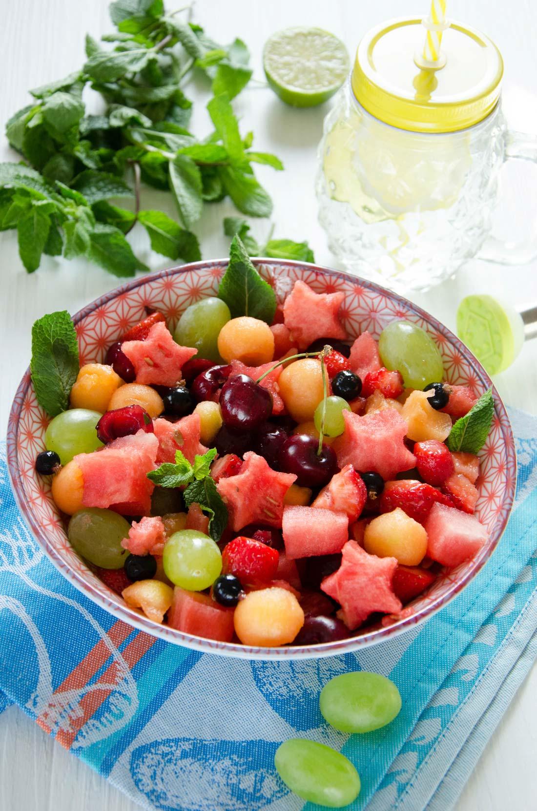 salade de fruits mojito