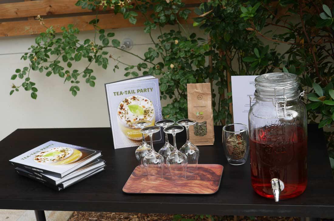 tea tail party, le livre de Lydia Gautier pour les Comptoirs Richard