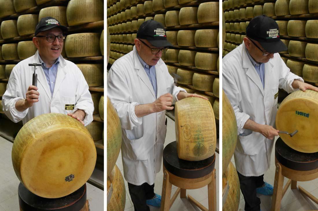 vérification du parmigiano reggiano
