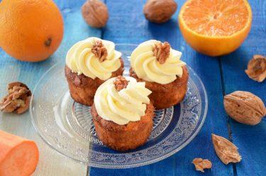 cupcakes à la patate douce maison