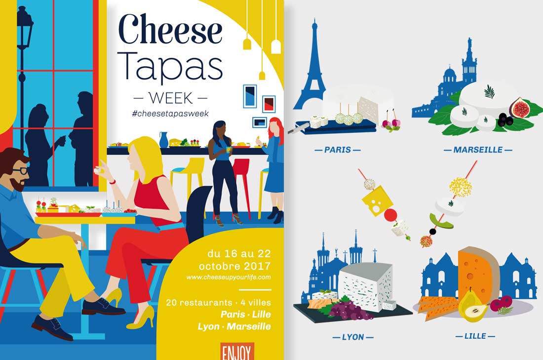 Cheese tapas week 2017