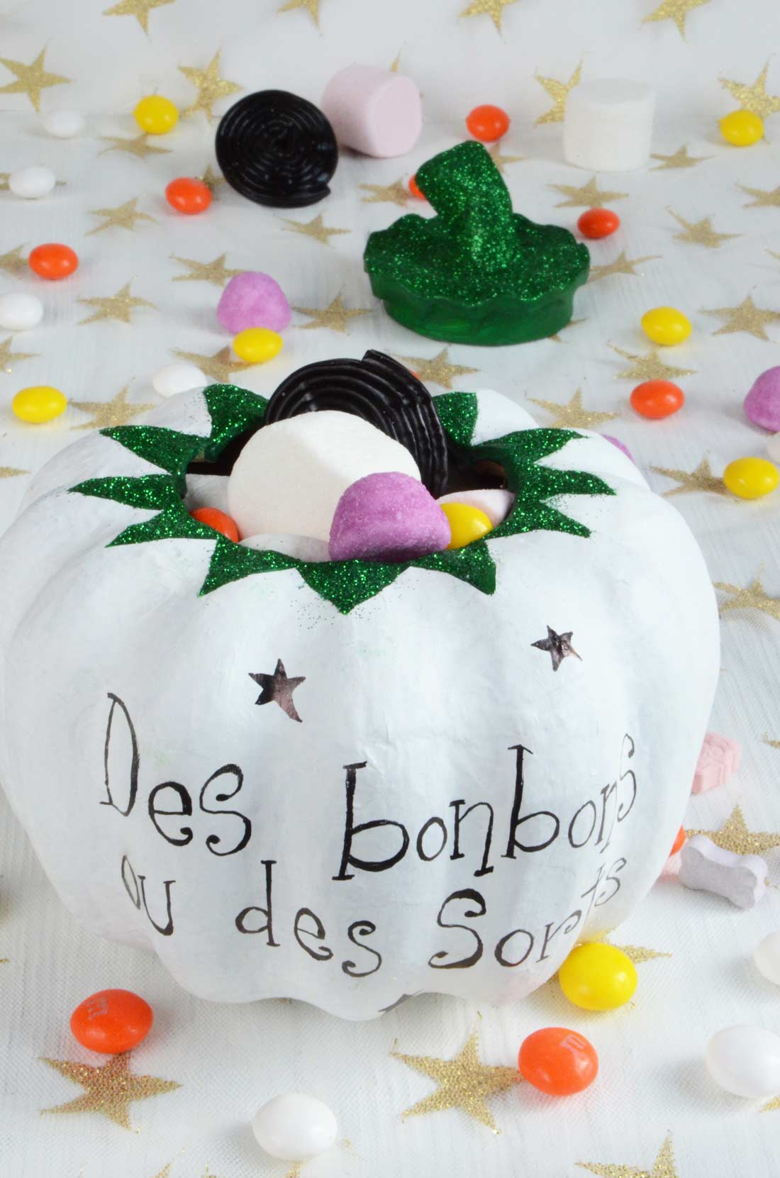 Diy citrouille decopatch Halloween
