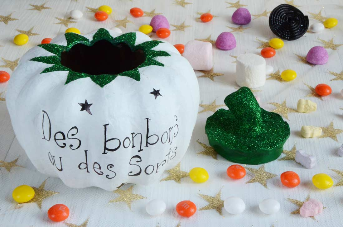 Diy citrouille decopatch pour Halloween