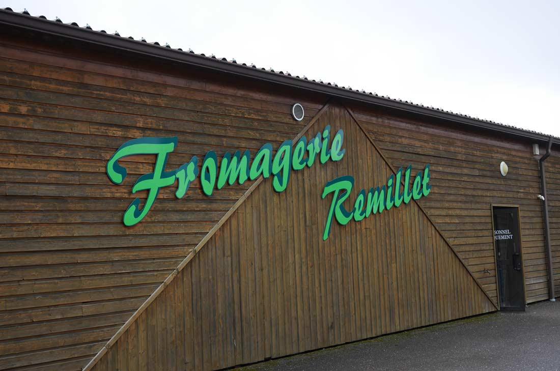 boutique de la Fromagerie Remillet
