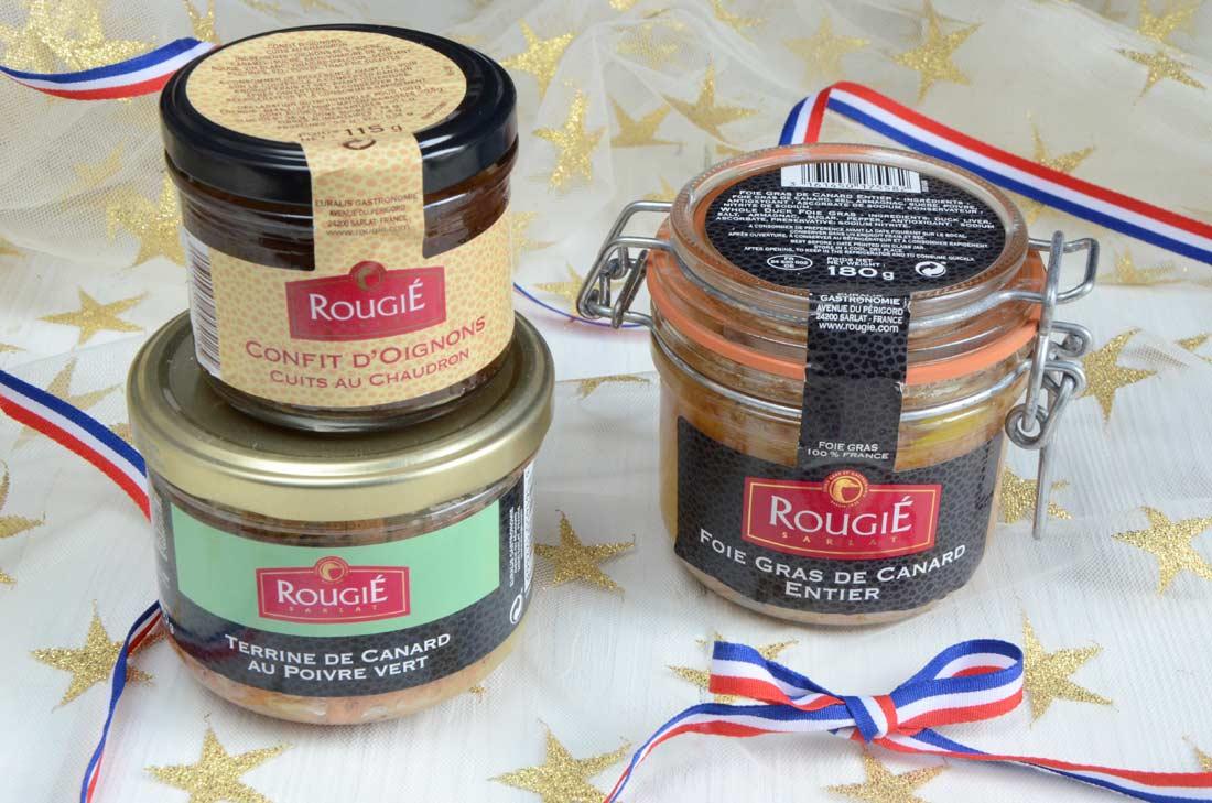 Jeu concours foie gras Rougié