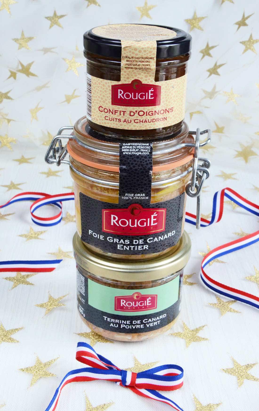 Jeu foie gras Rougié