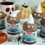 petits fondants à la crème de marrons Faugier pour Halloween