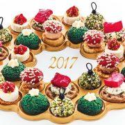 couronne de noël apéritive picard 2017