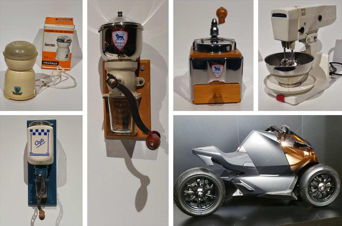 créations Peugeot au fil du temps