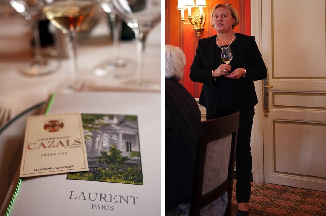 Delphine Cazals, propriétaire des champagnes Cazals