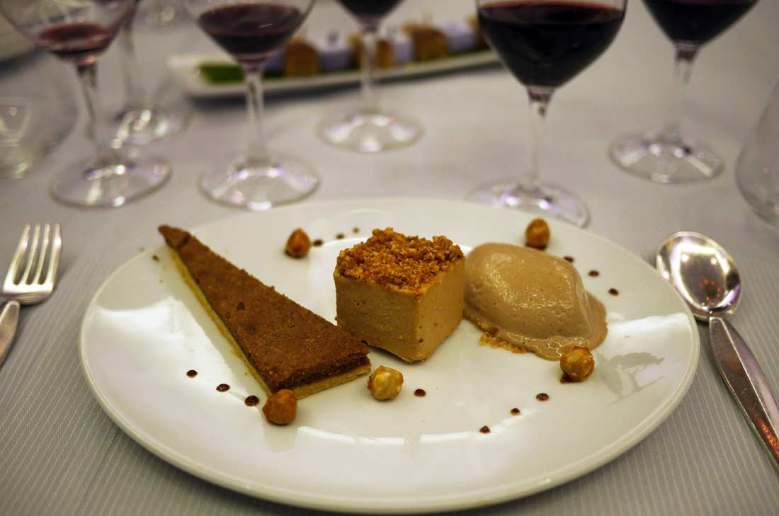 Casse-noisettes en trois actes, dessert du Carré des Feuillants