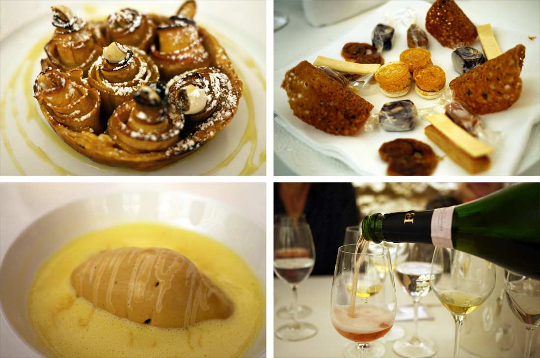 desserts et champagne Franck Bonville