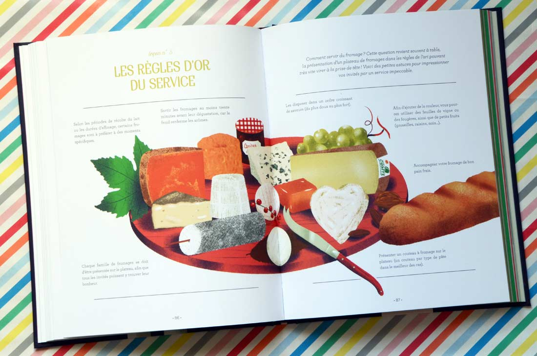 Vin et Fromage : Livre fromage