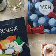 Livres vin et fromage