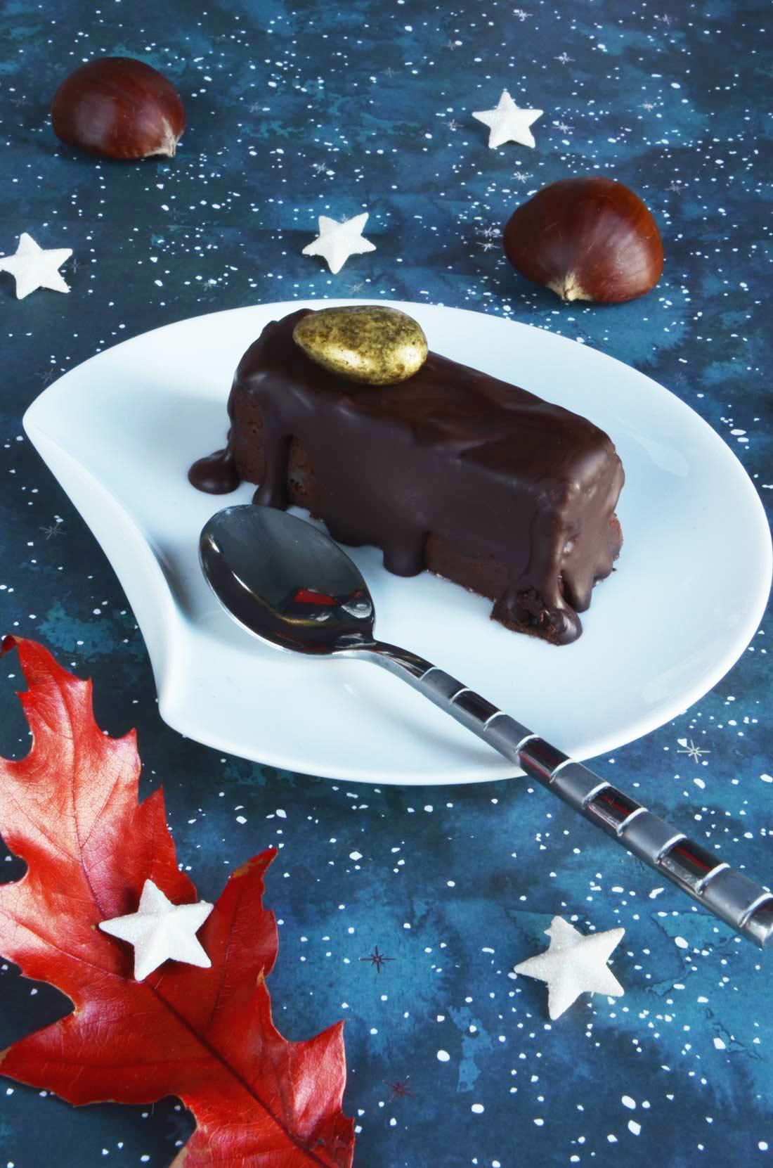 Joli dessert : Mini parfaits chocolat châtaigne fait maison