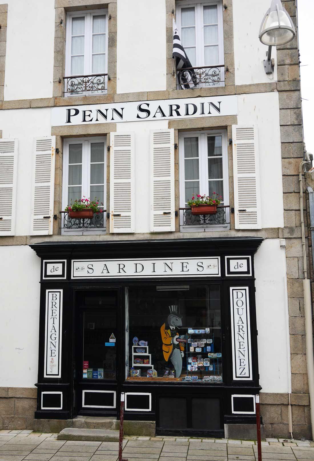 Boutique Penn Sardin à Douarnenez