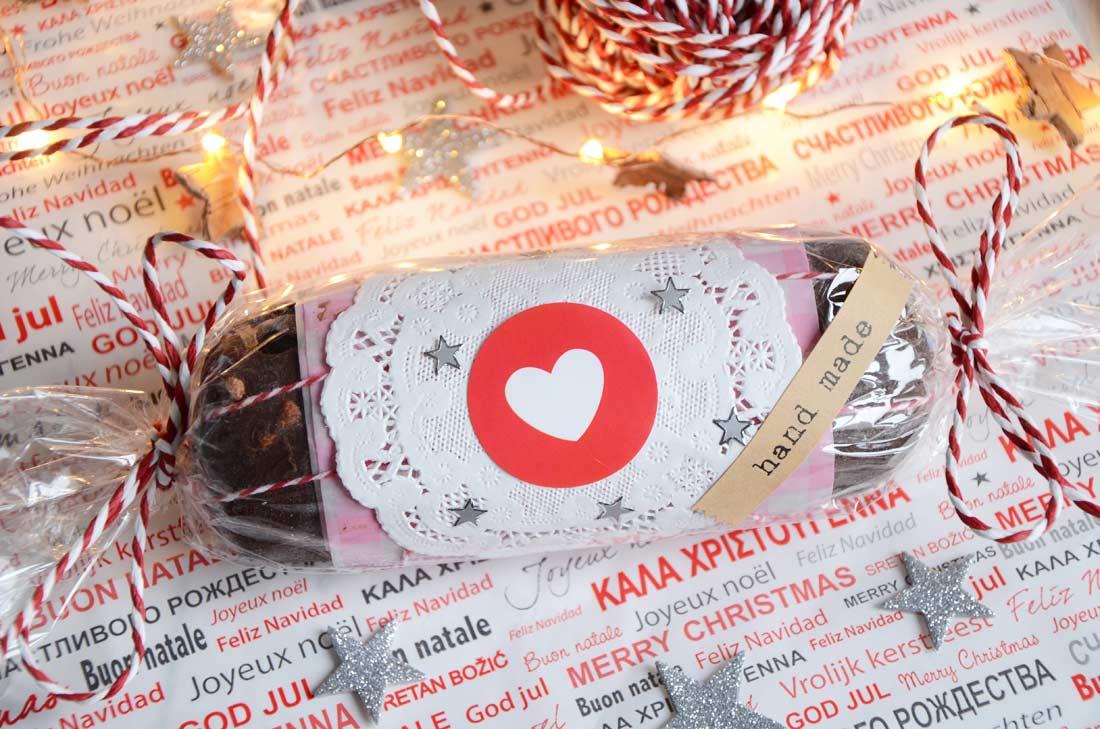 saucisson au chocolat un chouette cadeau gourmand