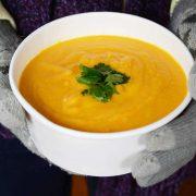 Velouté carottes, gingembre, orange