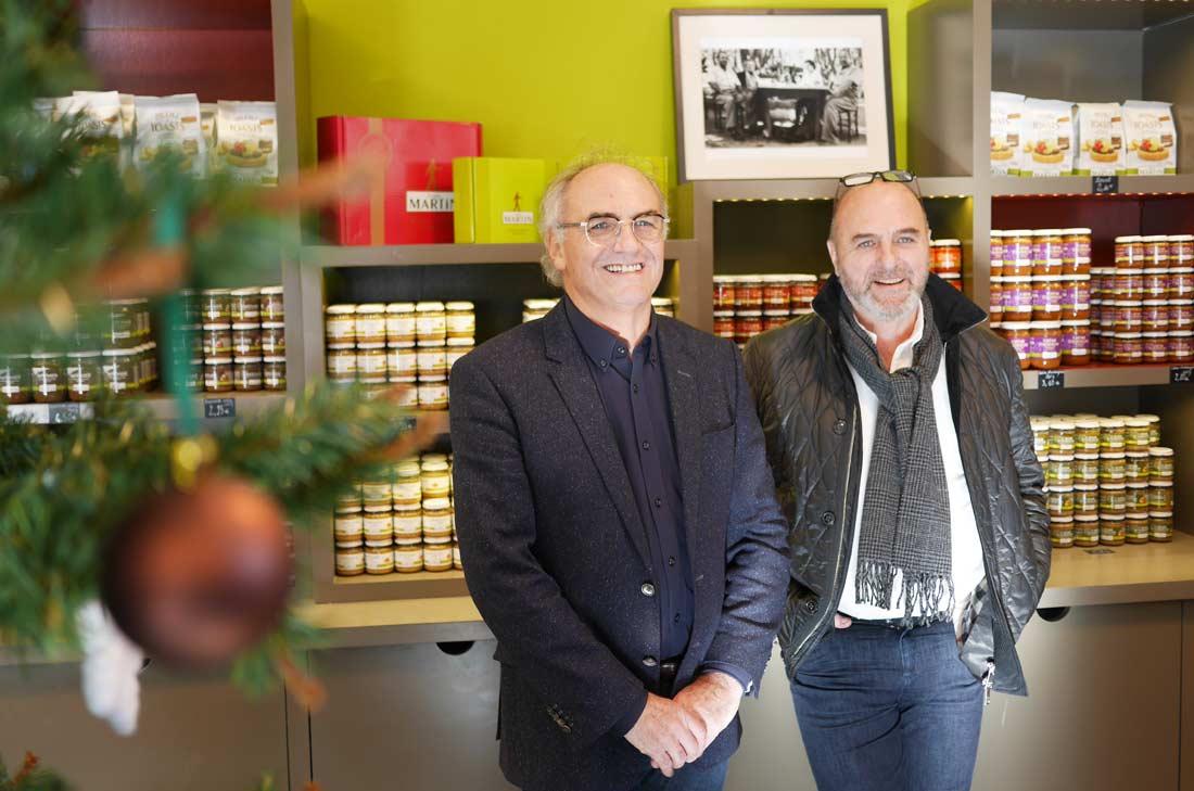 Bernard et Jean-Louis Martin Entrepreneurs+Engagés