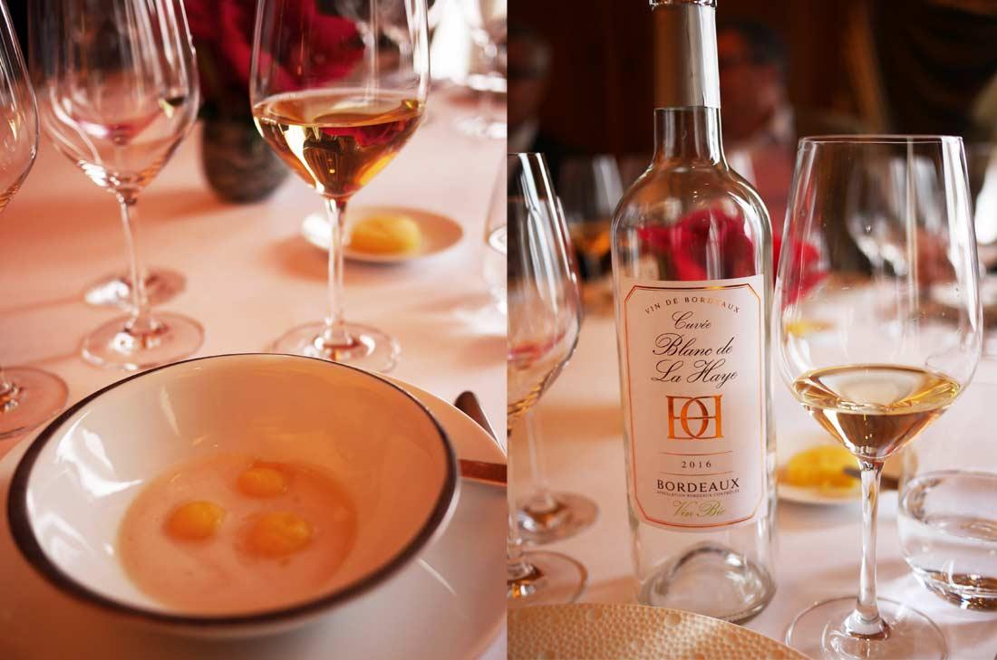 Vin blanc Château La Haye