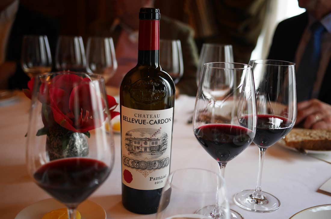 Bouteille pauillac 2015, un vin de Chris Cardon