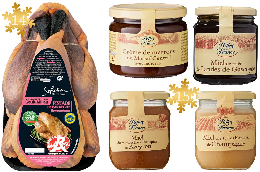 Carrefour produits de Noël