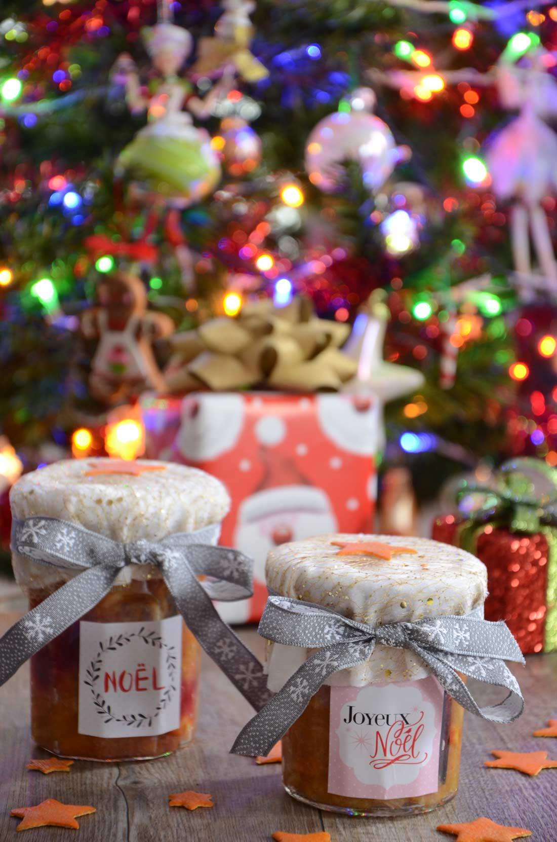 confiture de Noël maison