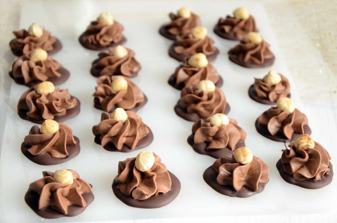 recette de chocolats gianduja fait maison
