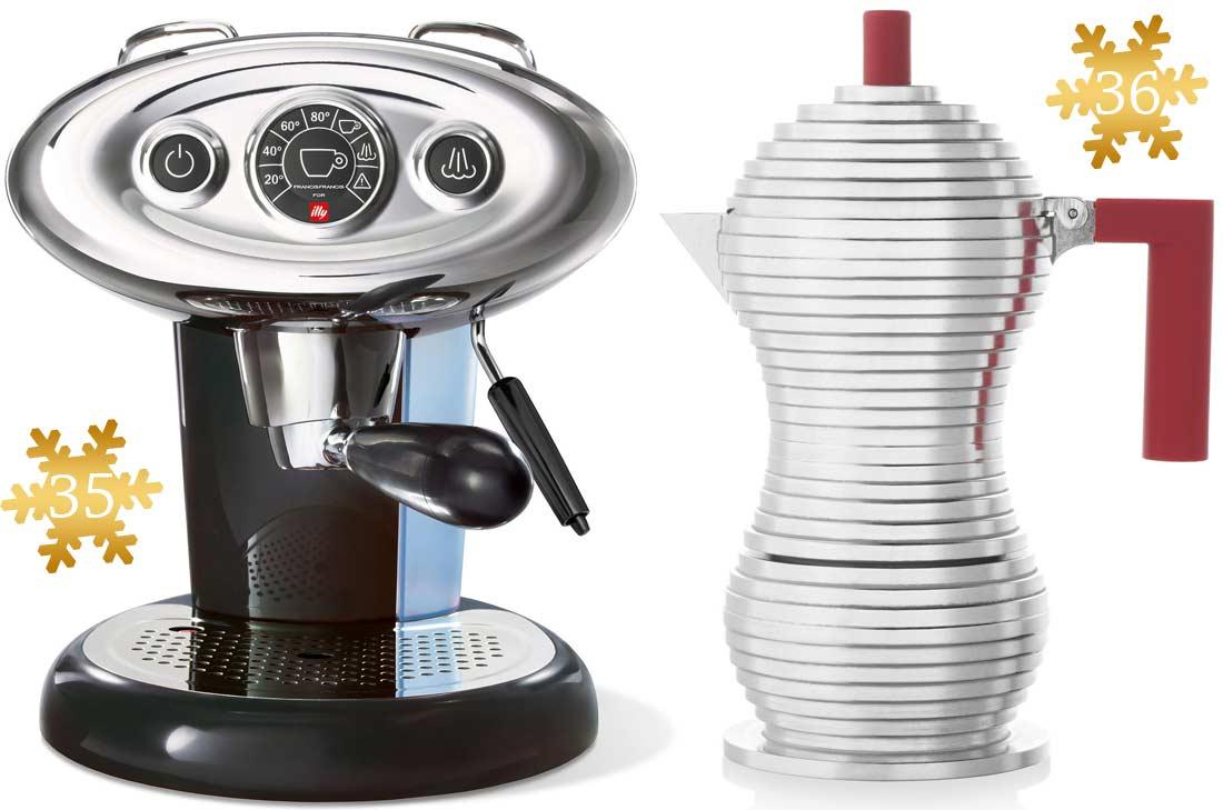Jolis cadeaux à offrir : les machines illy caffe