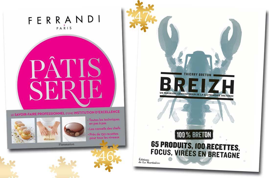 Livres pâtisserie Ferrandi et Breizh de Thierry Breton