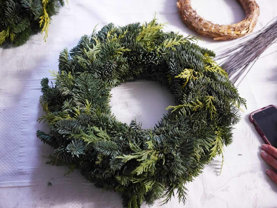 décorations de Noël chez Brindille et pom de pin
