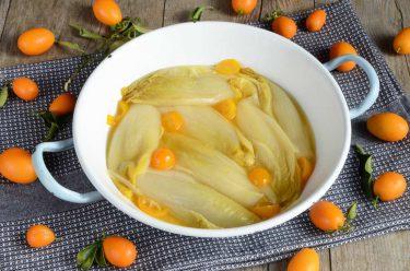endive confites aux kumquats