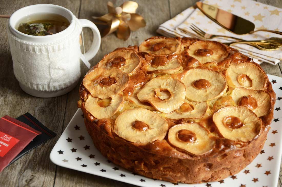 gâteau aux pommes fait maison