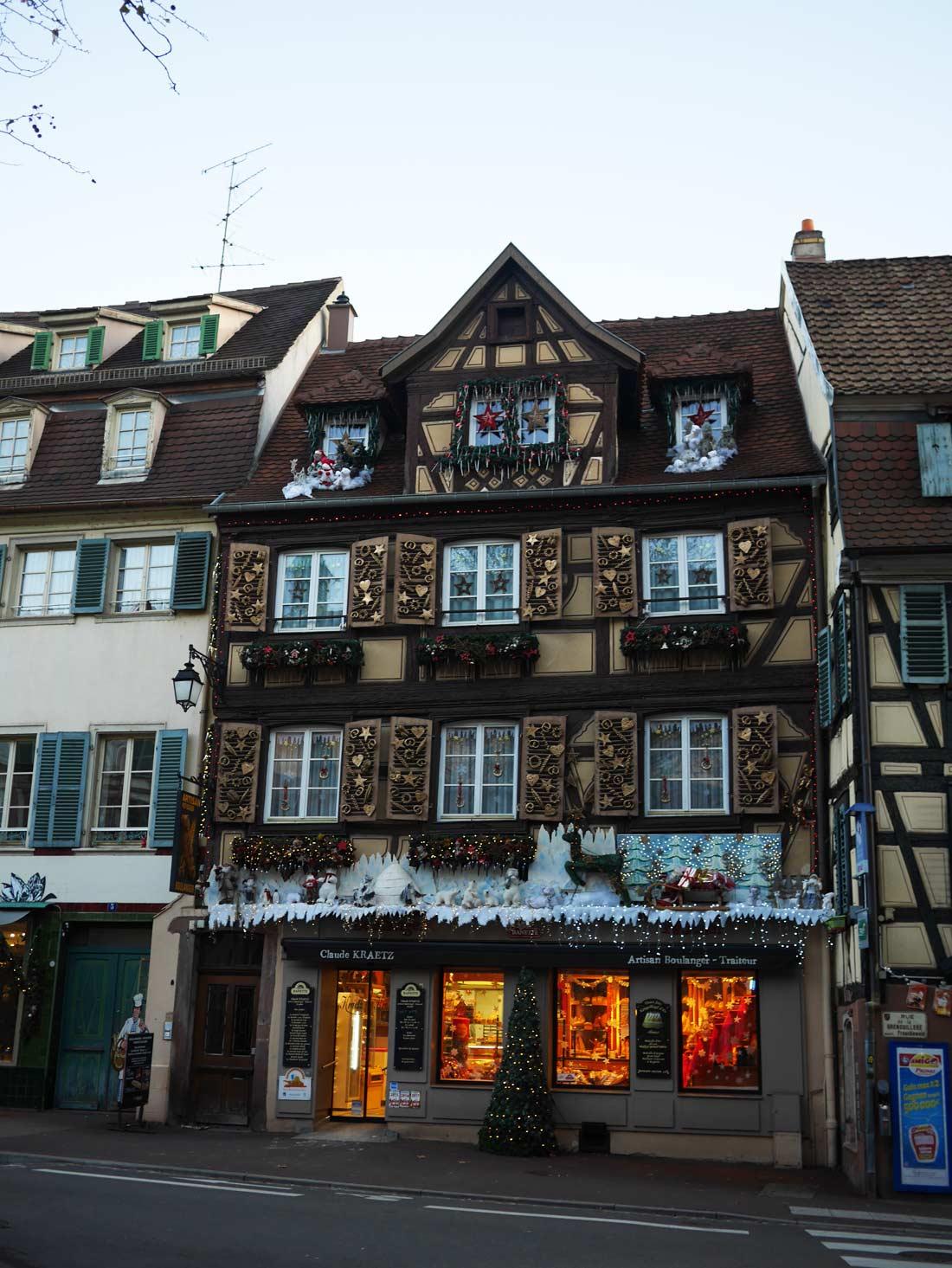 immeuble décoré dans Colmar