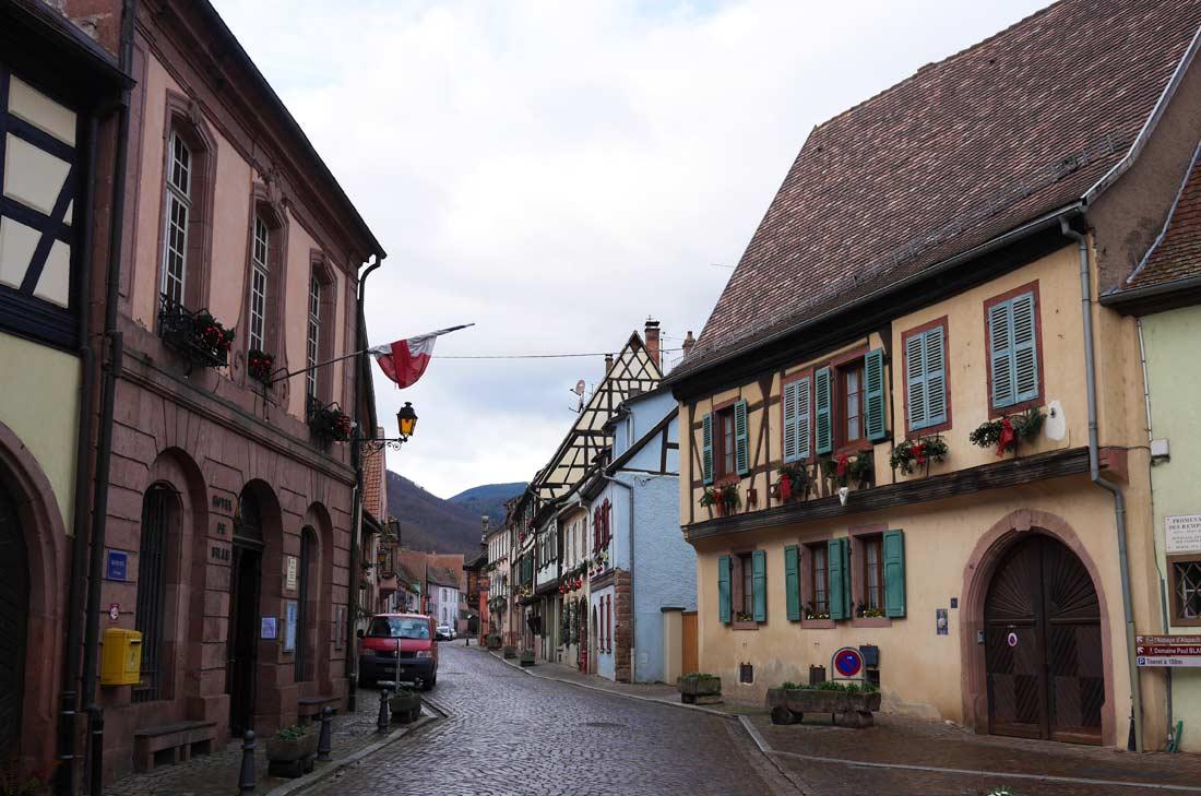 Le village de Kayserberg, en Alsace