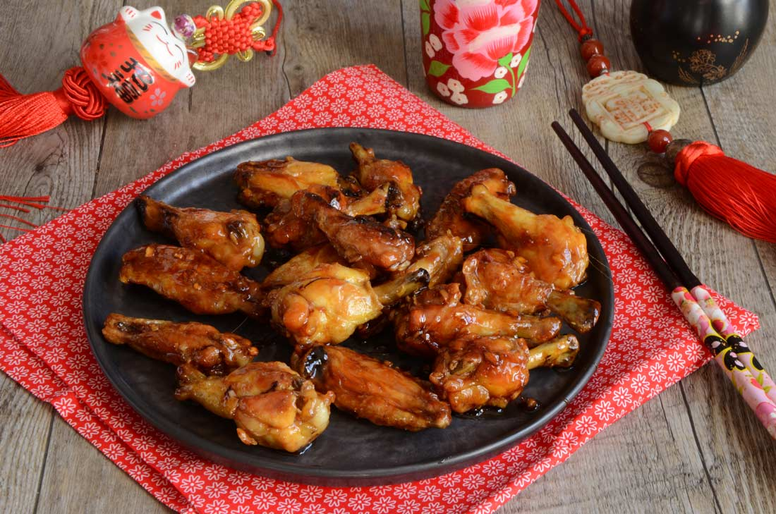 Ailes de poulet Général Tao maison
