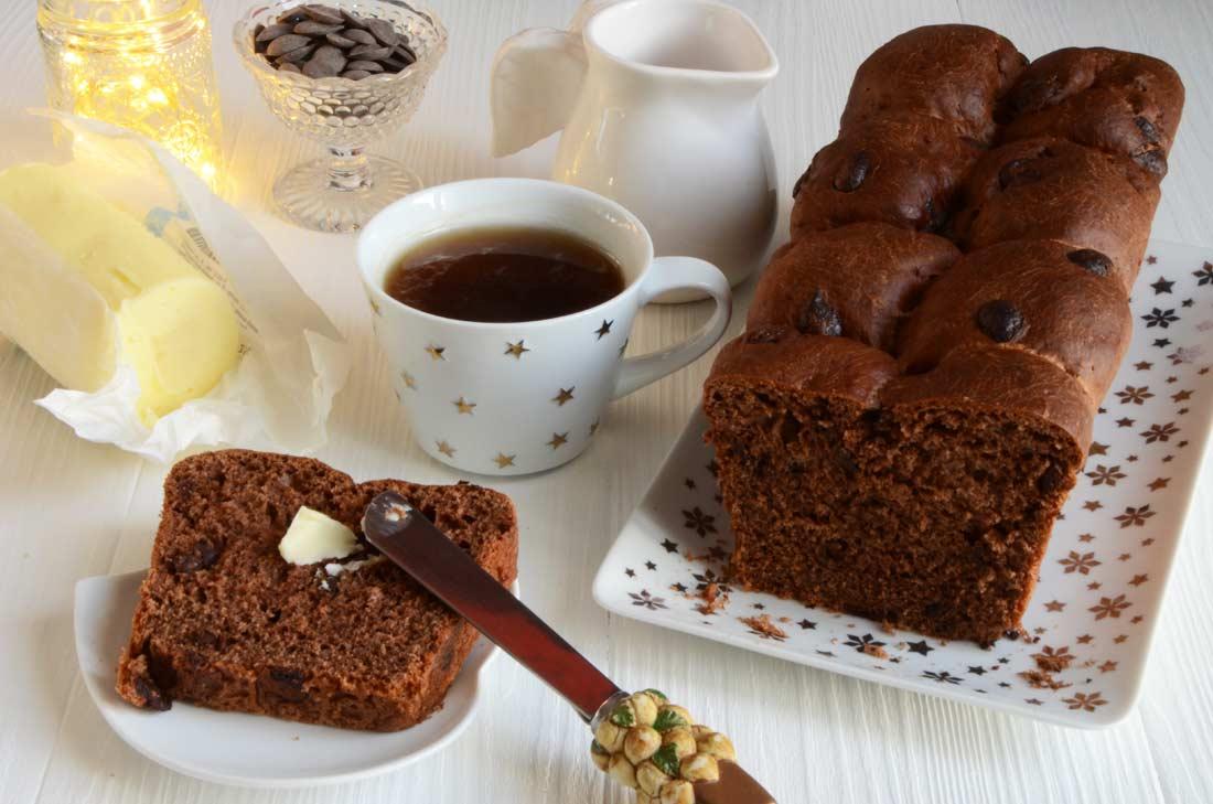 brioche au chocolat maison
