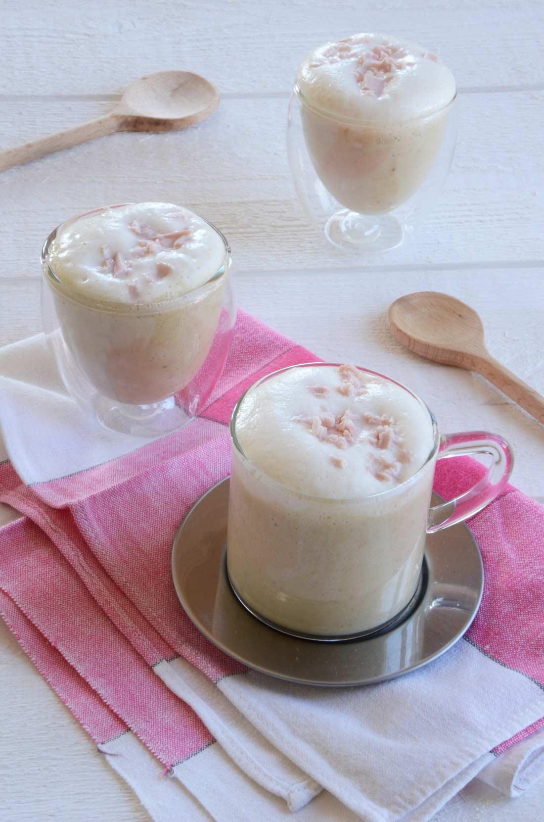 Cappuccino d'endives au jambon fait maison : un délice !