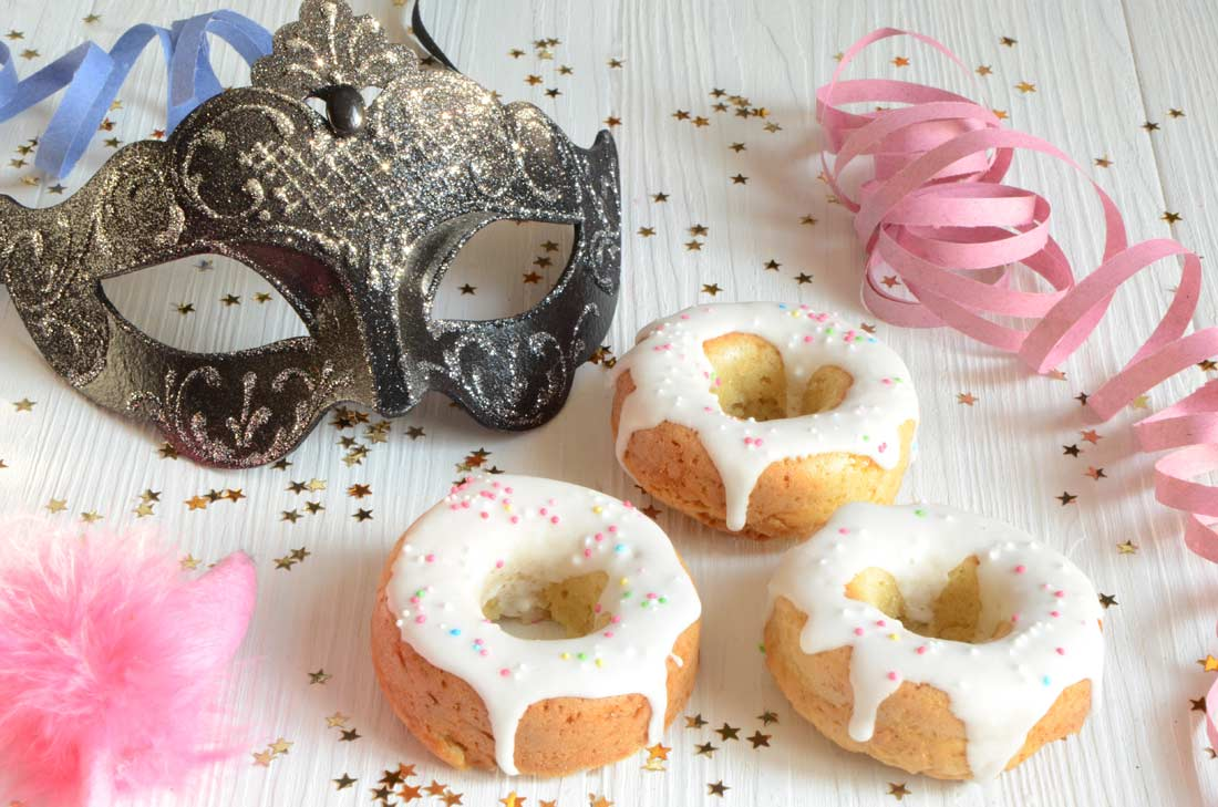 Petits gâteaux à l'orange façon faux beignets fait maison