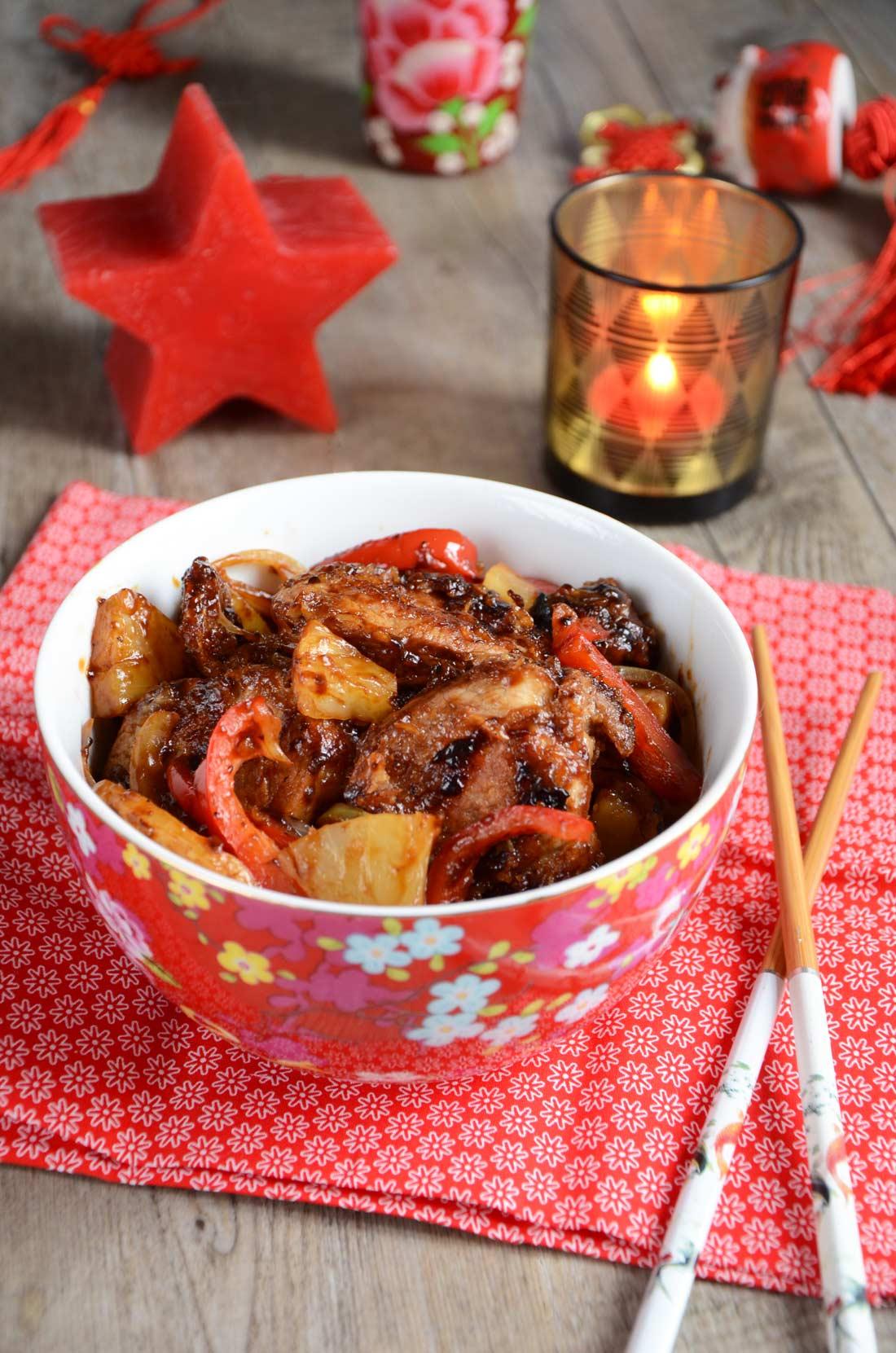 recette de porc à la sauce aigre douce