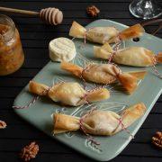 bonbons de fromage miel et noix fait maison