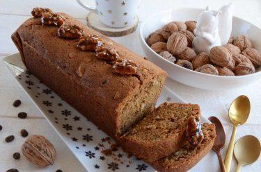 cake au café et aux noix fait maison