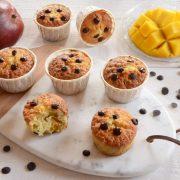 Muffins mangue pépites de chocolat fait maison